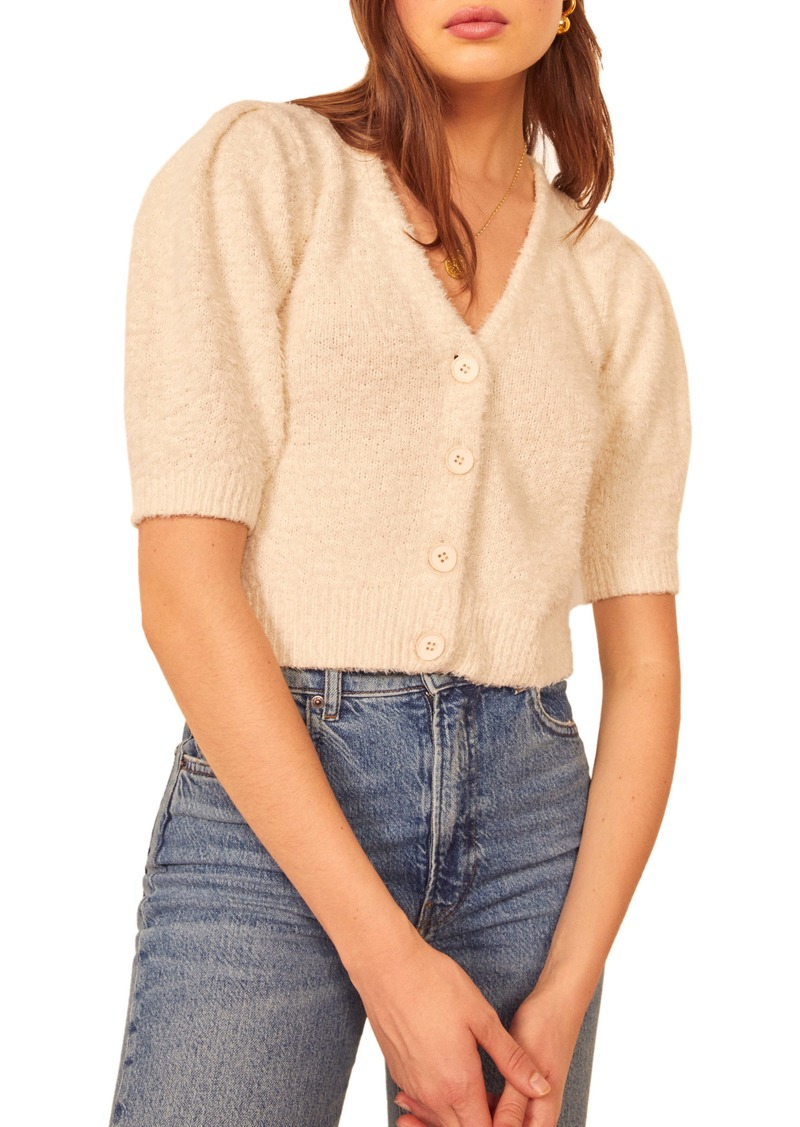 Reformation Hope Organic Cotton Cardigan