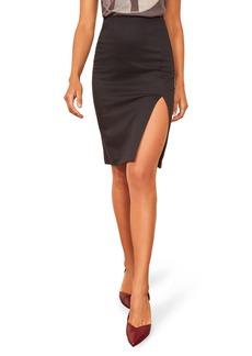 Reformation Indigo Skirt