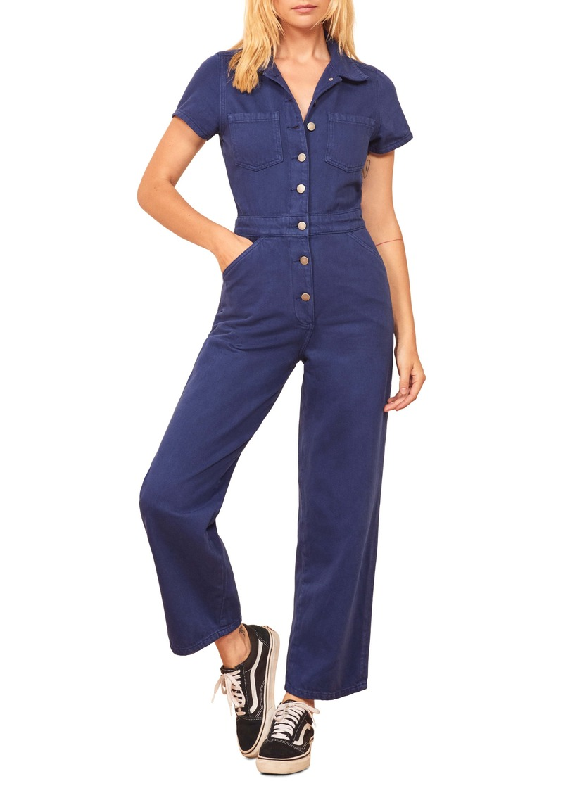 Reformation Izzy Organic Cotton Boilersuit