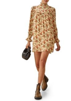Reformation Jourdan Long Sleeve Minidress