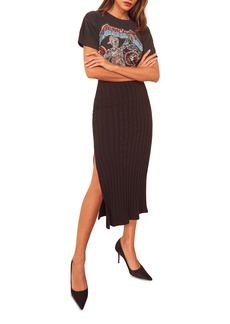 Reformation Kendall Midi Skirt