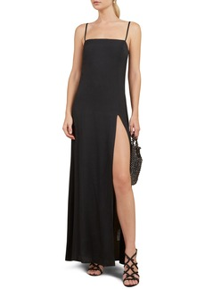 Reformation Keys Slit Maxi Dress