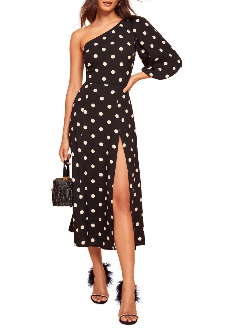 Reformation Lawrence Polka Dot Dress