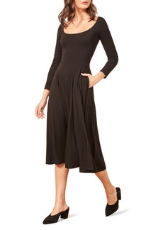 Reformation Lou Midi Dress