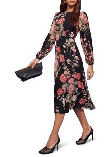 Reformation Luanne Midi Dress