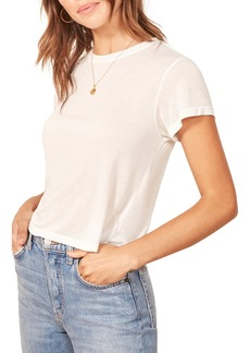 Reformation Maddie Crop Tee