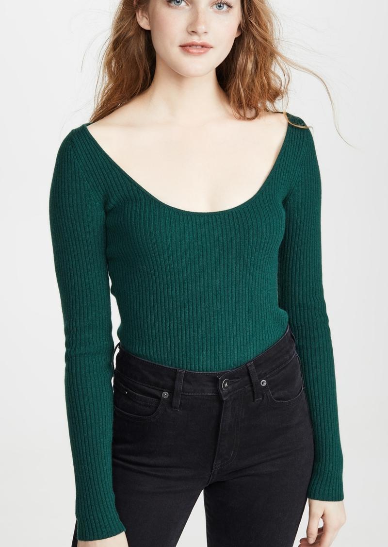 Reformation Mia Cashmere Sweater
