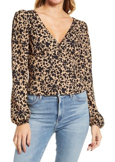 Reformation Nell Long Sleeve Top