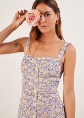 b127558c155 SALE! Reformation Reformation Persimmon Floral Midi A-Line Dress