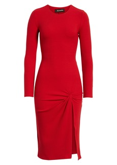 Reformation Piazza Ribbed Dress