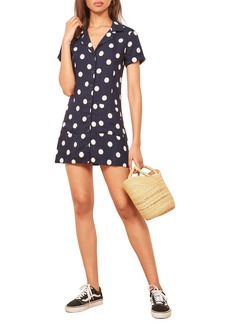 Reformation Plymouth Shirtdress