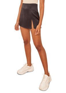 Reformation Robbie Silk Miniskirt