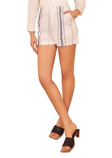 Reformation Sterling Linen Shorts