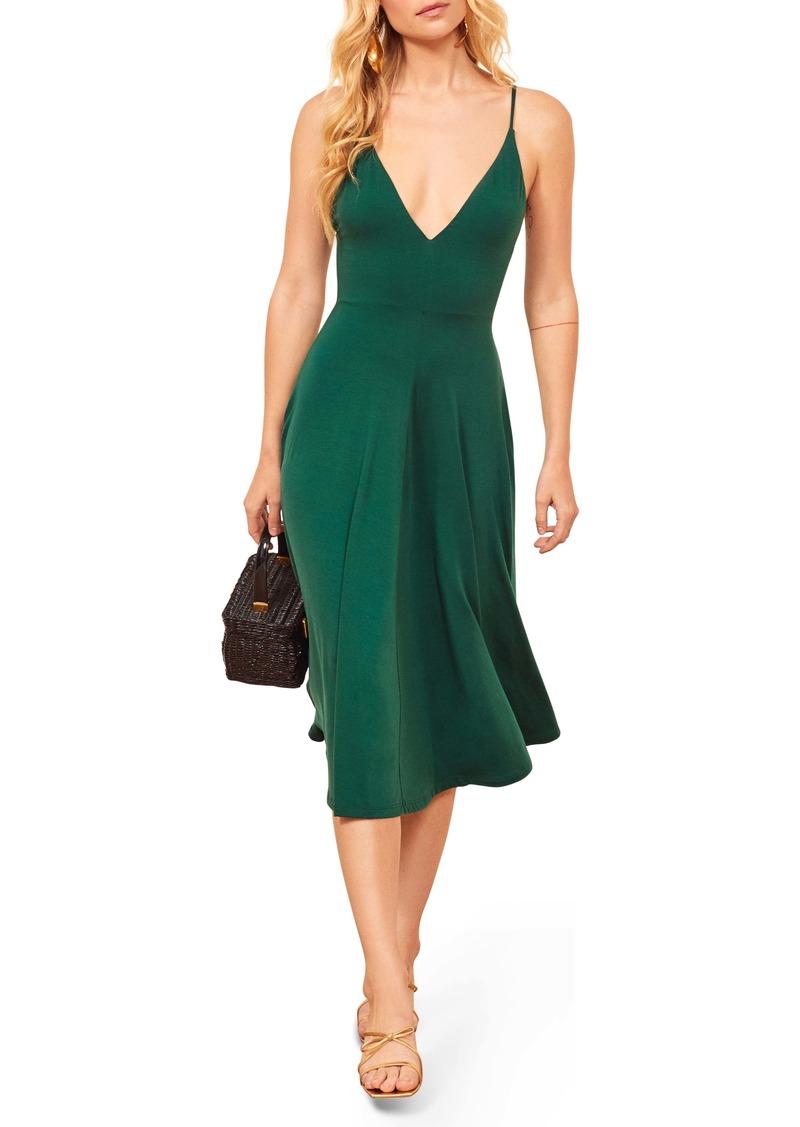 Reformation Strada Sleeveless Dress