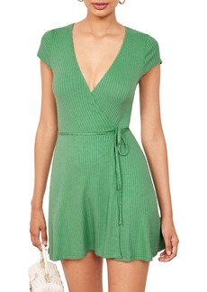 Reformation Tulip Wrap Dress