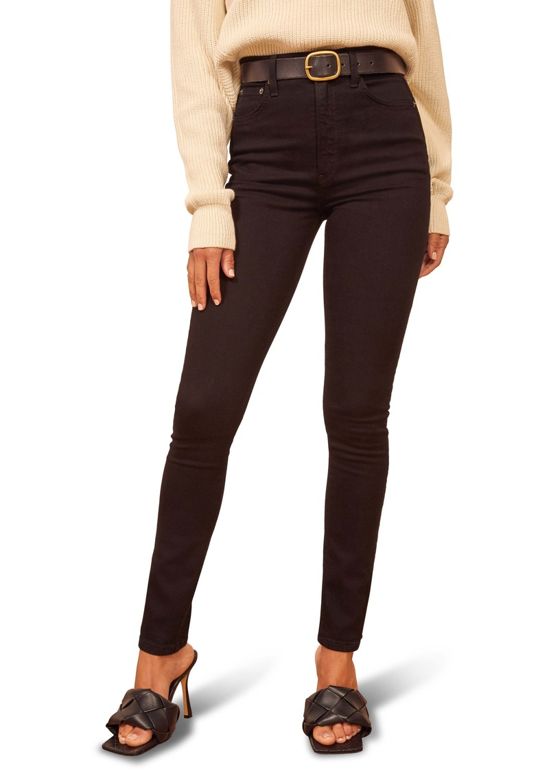 Reformation Ultra High Skinny Jeans