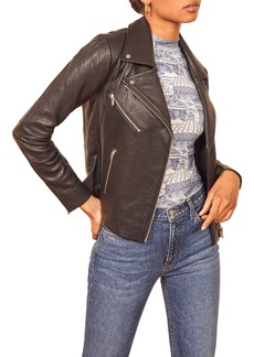 Reformation x Veda Bad Leather Jacket