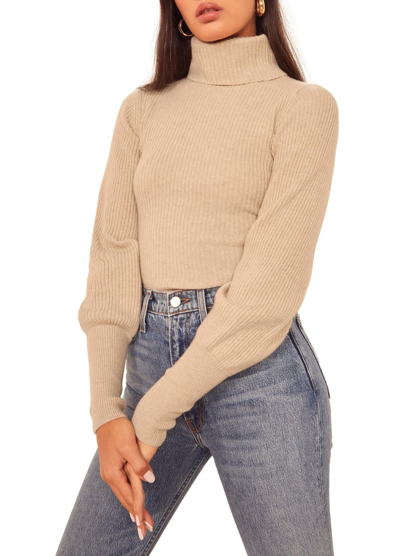 Reformation Victoria Turtleneck Sweater