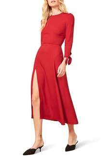 Reformation Zelda Double Slit Dress