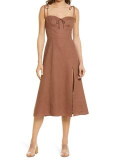 Reformation Reforrmation Joyce Fit & Flare Dress