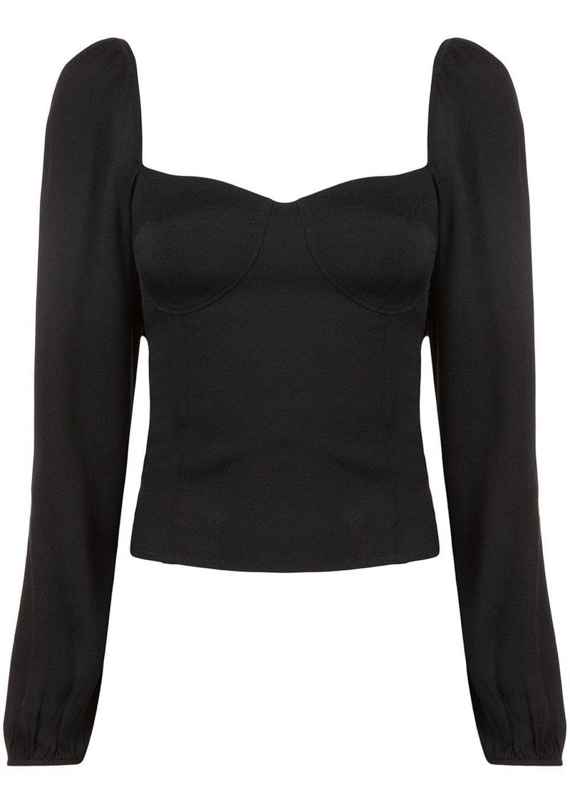 Reformation Reign long-sleeved top