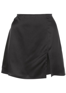 Reformation Robbie fitted mini-skirt