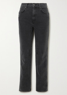Reformation Net Sustain Star High-rise Straight-leg Jeans