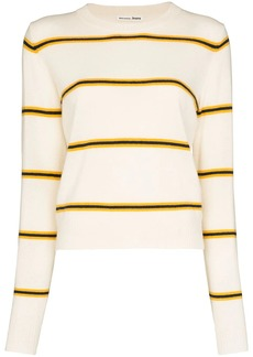 Reformation striped cashmere jumper