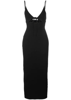 Reformation Tash ribbed-jersey dress