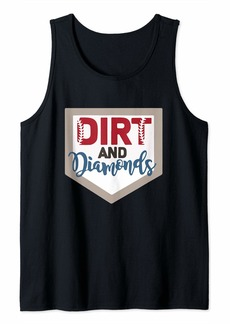 REI Dirt and Diamonds - Baseball Mom Tank Top