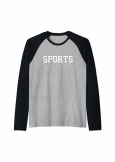 REI Funny Sports - Hope Both Teams Have Fun - Football  Raglan Baseball Tee