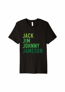 REI Irish Whiskey Shirt - St Patricks Day Shirt - Shamrocks