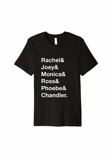 REI Rachel Joey Monica Ross Phoebe Chandler Ampersand Shirt