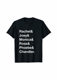 REI Rachel Joey Monica Ross Phoebe Chandler Ampersand Shirt