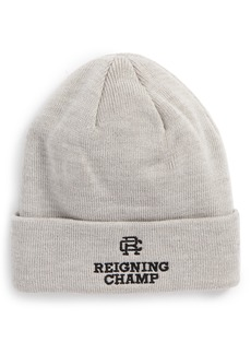 Reigning Champ Embroidered Knit Cap