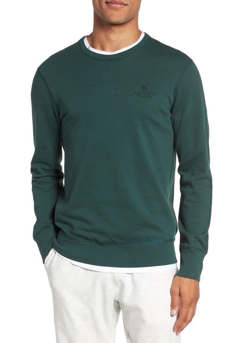 45b00340cf24 REI Reigning Champ Embroidered Logo Crewneck Sweatshirt