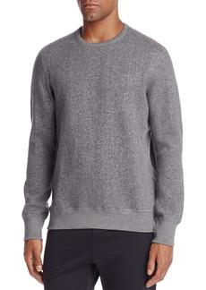 REIGNING CHAMP Tiger Fleece Long Sleeve Crewneck Sweatshirt