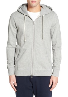 Reigning Champ Trim Fit Full Zip Hoodie