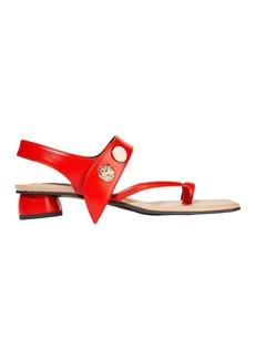 REI Embellished Flat Sandals