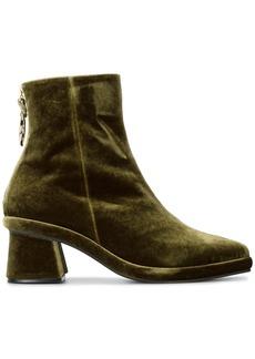 Reike Nen Green Ring 50 Velvet Ankle Boots