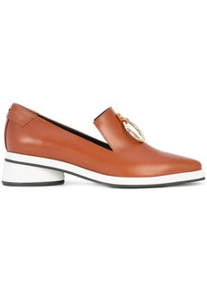 Reike Nen O-ring detail loafers - Brown
