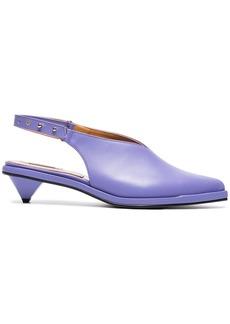Reike Nen Purple Ribbon 40 Leather slingbacks - Pink & Purple