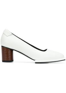 Reike Nen square toe pumps - White