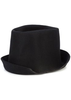 Reinhard Plank Artista Lapin Torn hat - Black