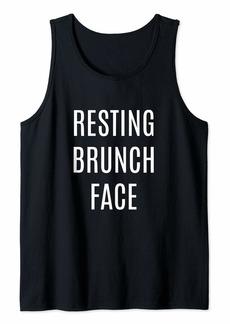 REI Resting Brunch Face Tank Top