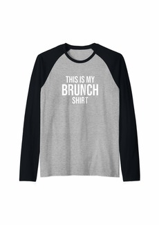 REI This Is My Brunch Shirt Raglan Baseball Tee