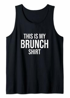 REI This Is My Brunch Shirt Tank Top