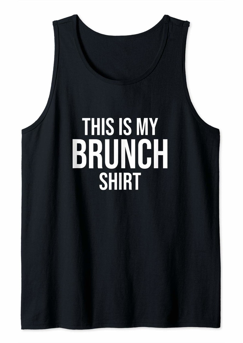 REI This Is My Brunch Shirt Tank Top
