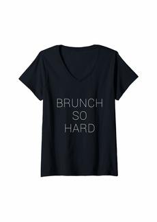 REI Womens Brunch So Hard V-Neck T-Shirt