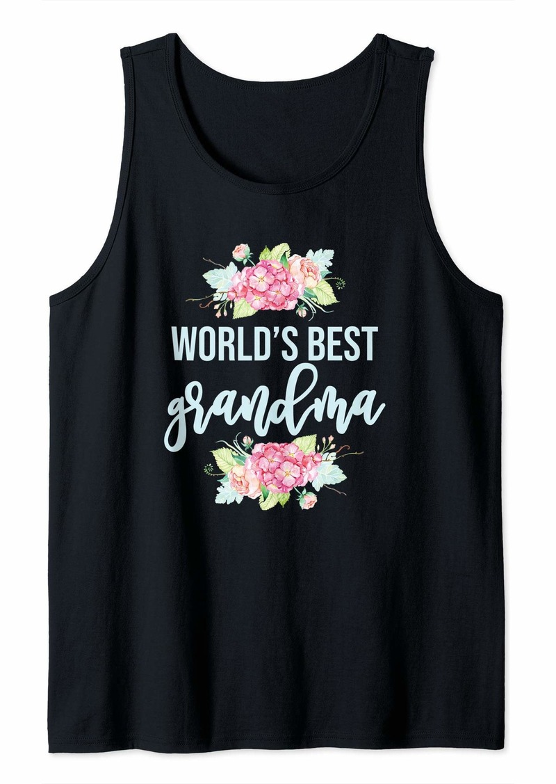 REI World's Best Grandma Mother's Day Tank Top